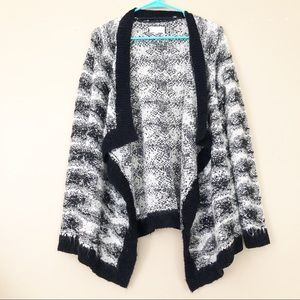 Lou & Grey Oversized Waterfall Cardigan